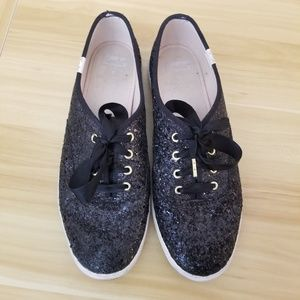 ⚡SALE⚡ Kate Spade Pre-Loved Glitter Keds Sneakers